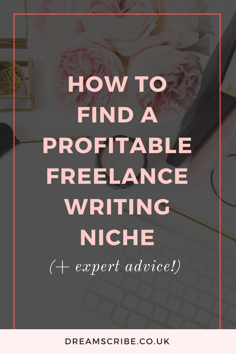 How to Find a Profitable Freelance Writing Niche