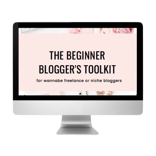 Beginner Blogger's Toolkit