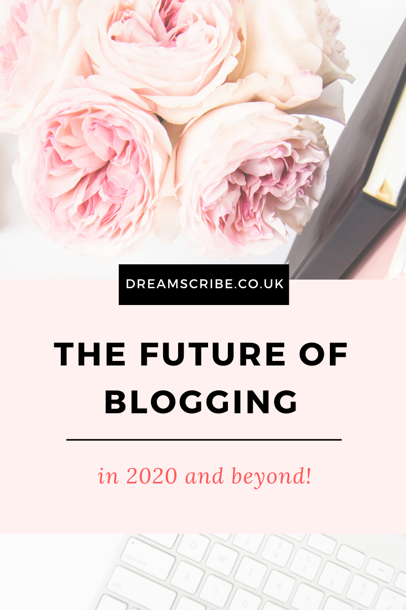 The Future of Blogging in 2020 and Beyond