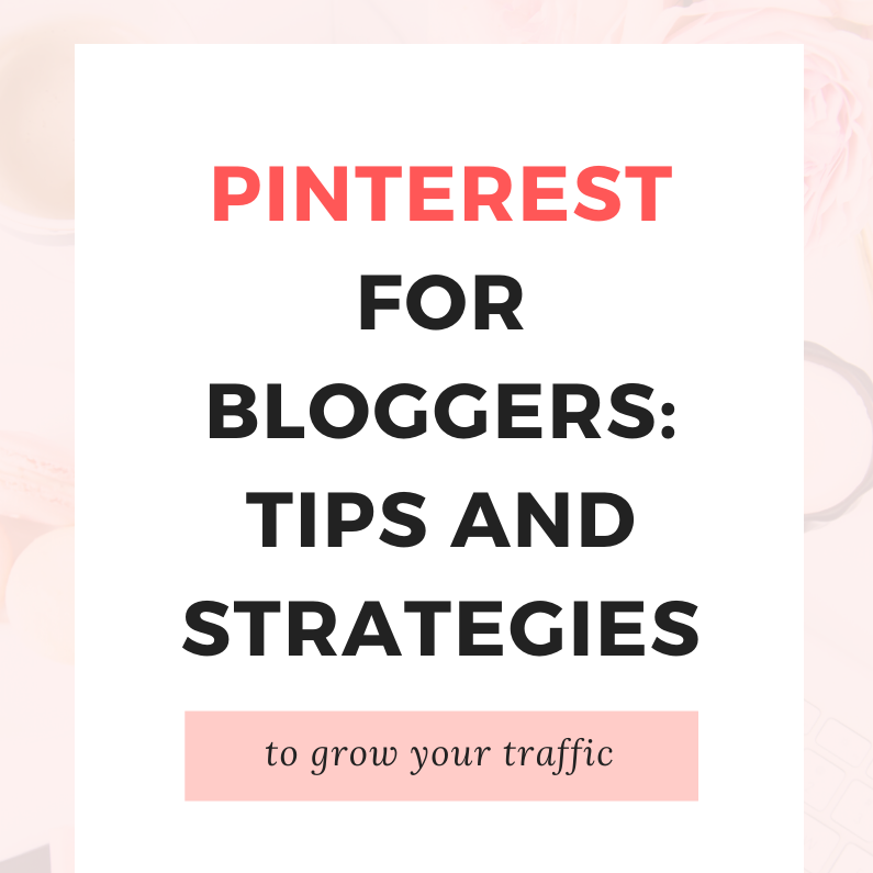 Pinterest for Bloggers Pin