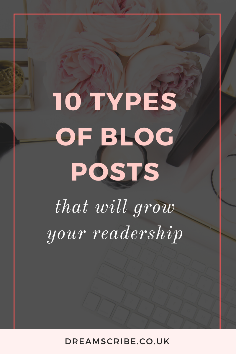 Types of Blog Posts