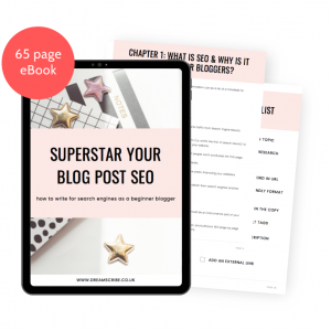 Superstar Your Blog Post SEO eBook Mockup