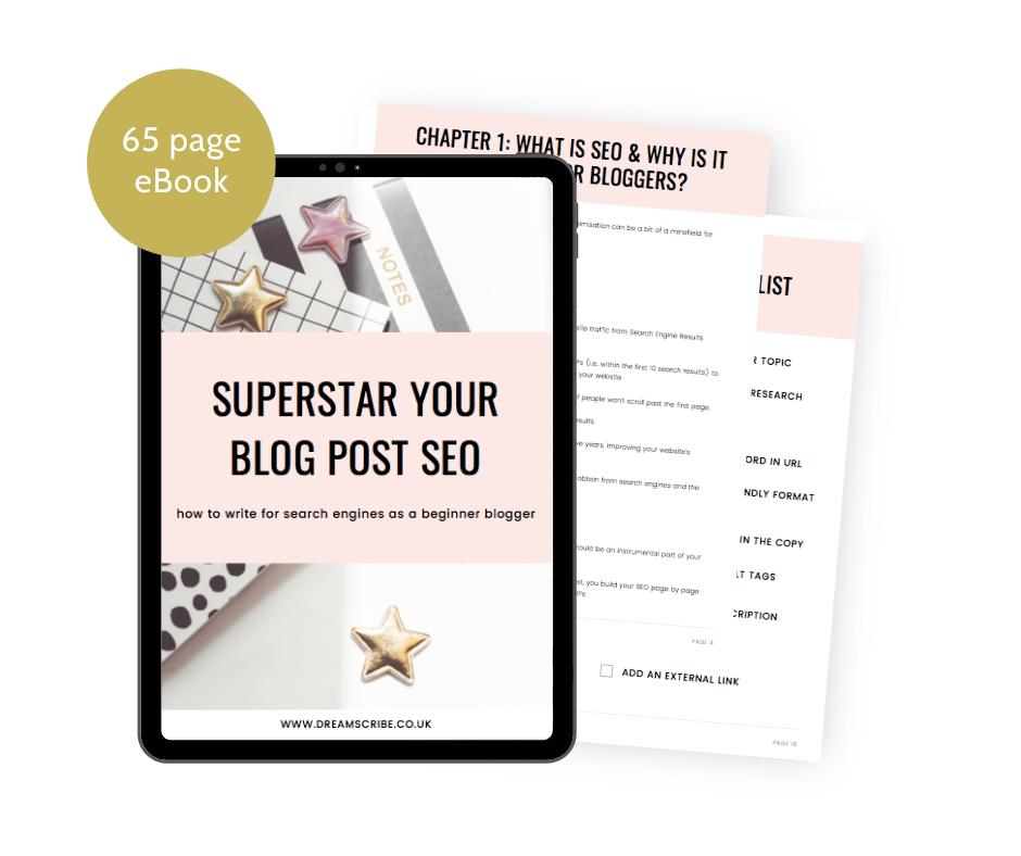 Superstar Your Blog Post SEO eBook