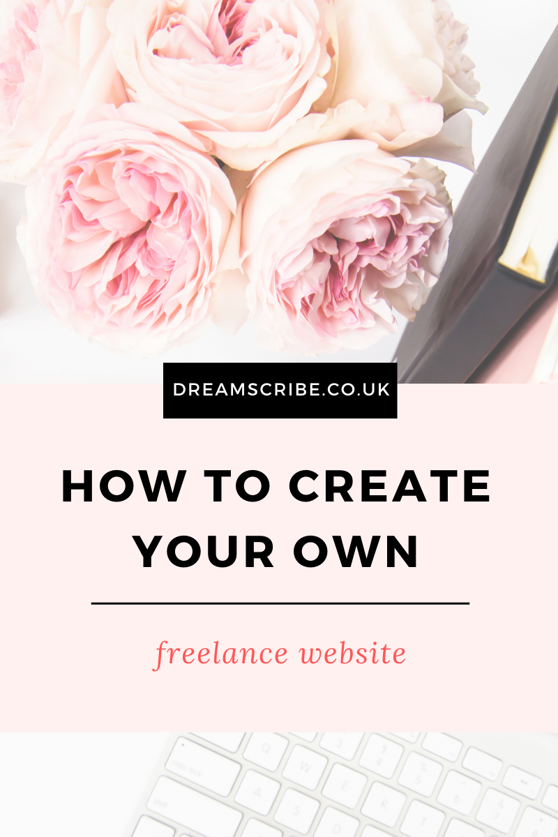 How to Create Your Own Freelance Website