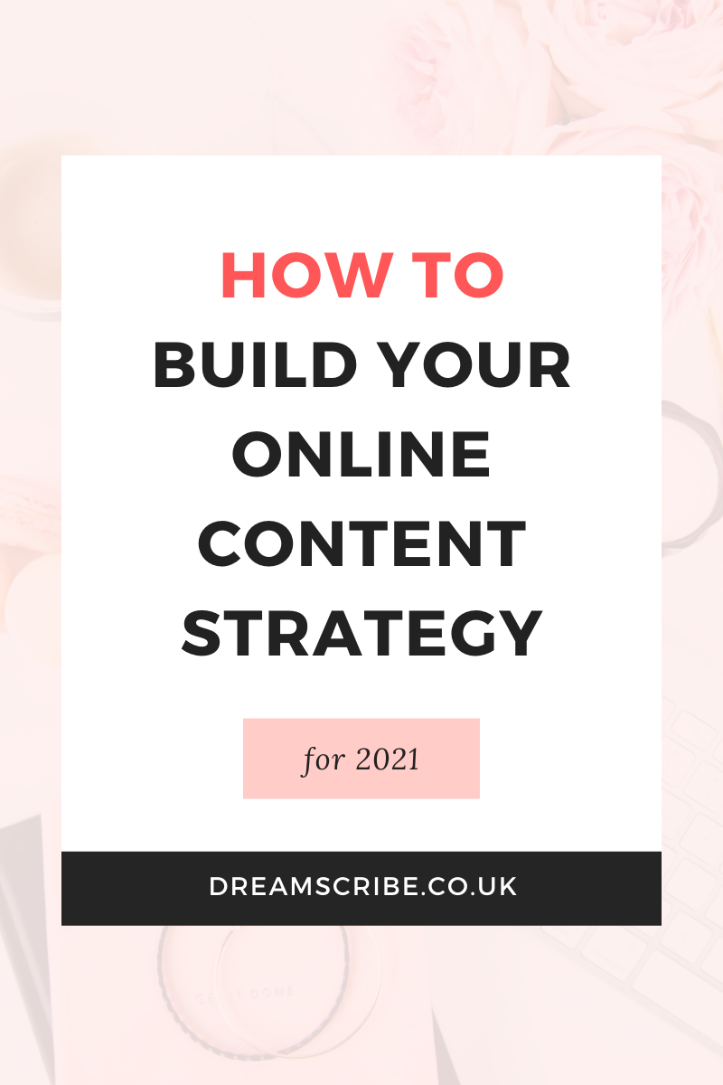 How to Build Your Online Content Strategy for 2021