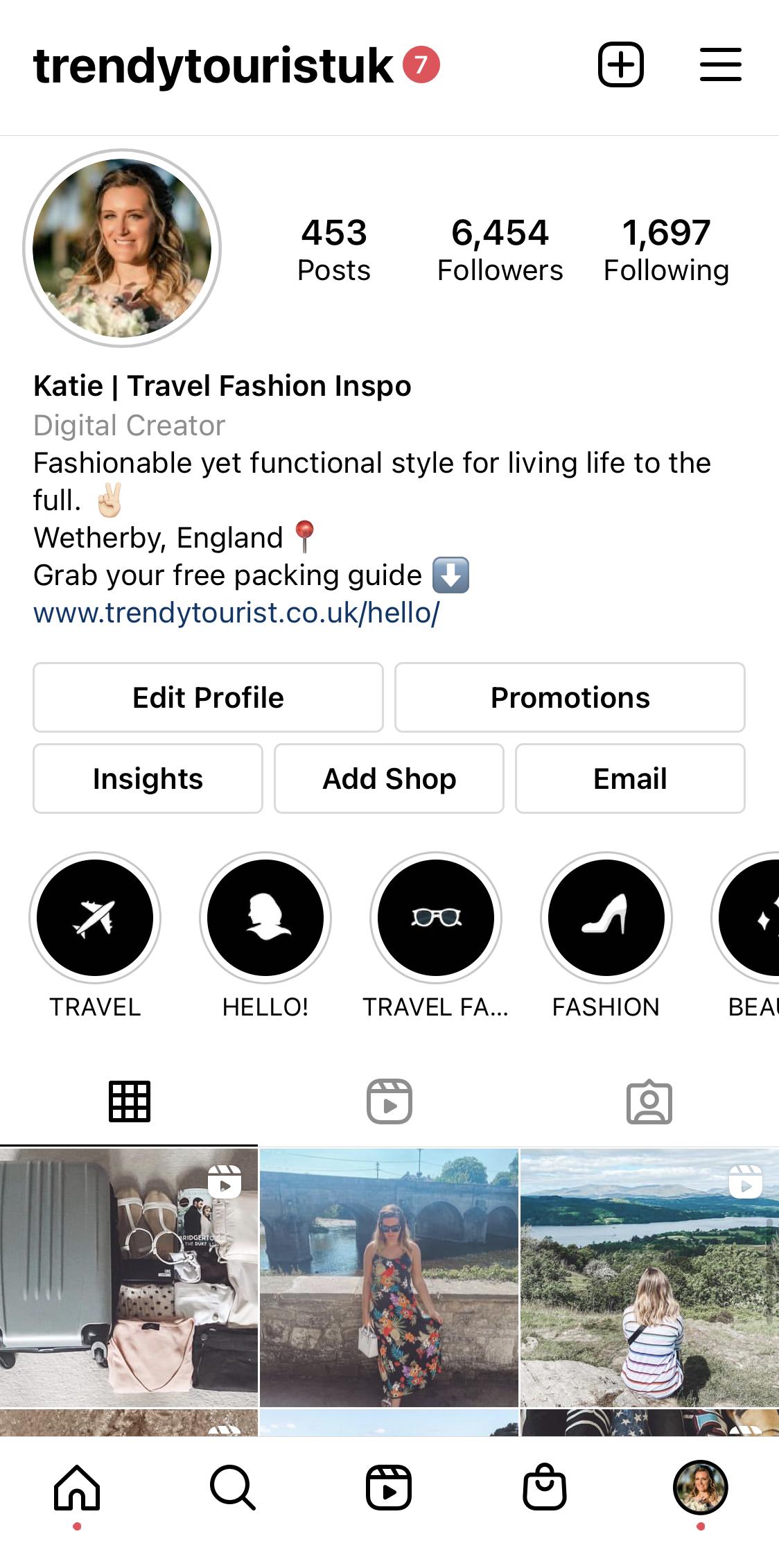Trendy Tourist Instagram Bio